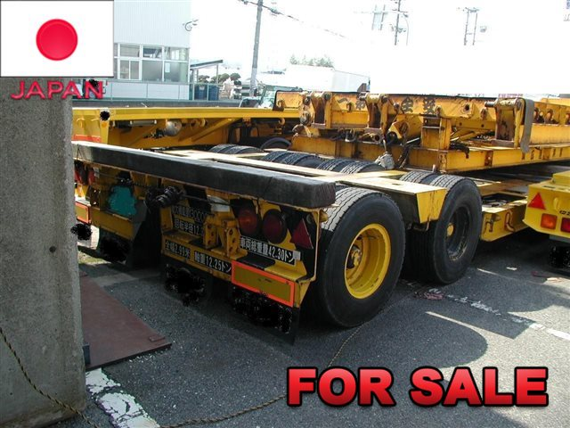 TOKYU 30 TONS LOW BED TRAILER TD302A-3 SHIP FROM JAPAN , STOCK SALE