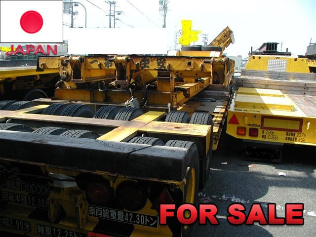 TOKYU 30 TONS LOW BED TRAILER TD302A-3 SHIP FROM JAPAN (3)