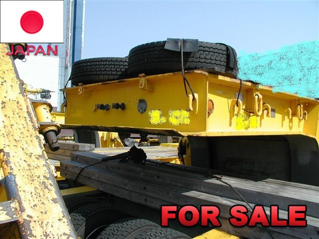 TOKYU 30 TONS LOW BED TRAILER TD302A-3 SHIP FROM JAPAN (9)