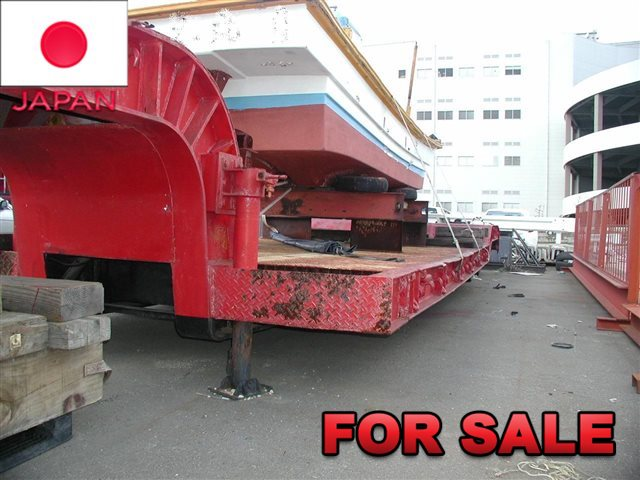 YUSOUKI 21.5 TONS LOW BED TRAILER YT2070D SHIP FROM JAPAN (10)