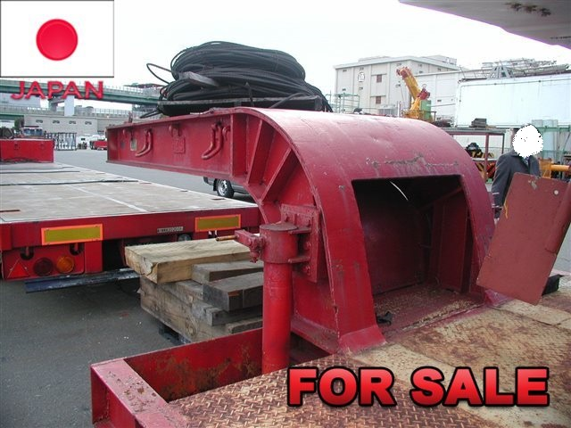 YUSOUKI 21.5 TONS LOW BED TRAILER YT2070D SHIP FROM JAPAN (11)