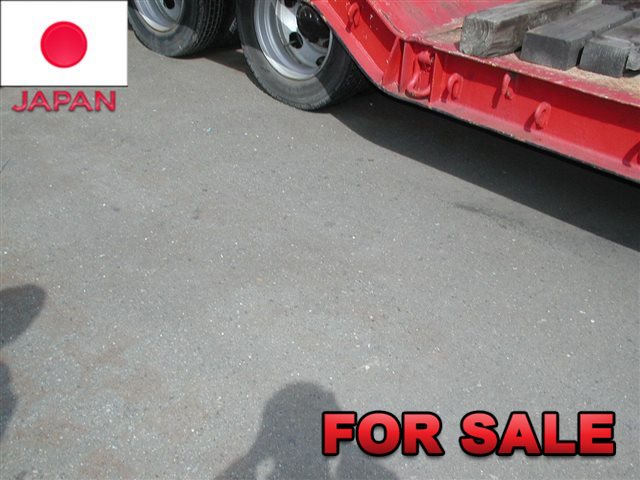 YUSOUKI 21.5 TONS LOW BED TRAILER YT2070D SHIP FROM JAPAN (2)