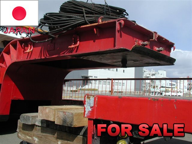 YUSOUKI 21.5 TONS LOW BED TRAILER YT2070D SHIP FROM JAPAN (3)