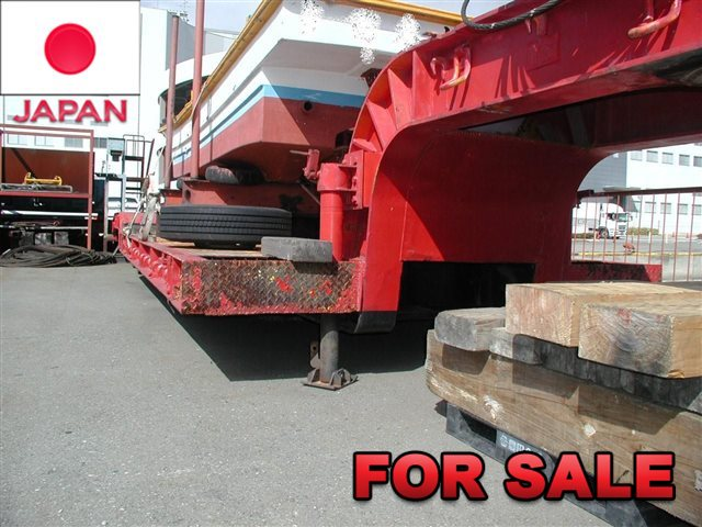 YUSOUKI 21.5 TONS LOW BED TRAILER YT2070D SHIP FROM JAPAN (4)