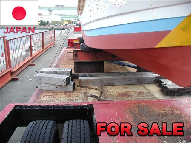 YUSOUKI 21.5 TONS LOW BED TRAILER YT2070D SHIP FROM JAPAN (8)