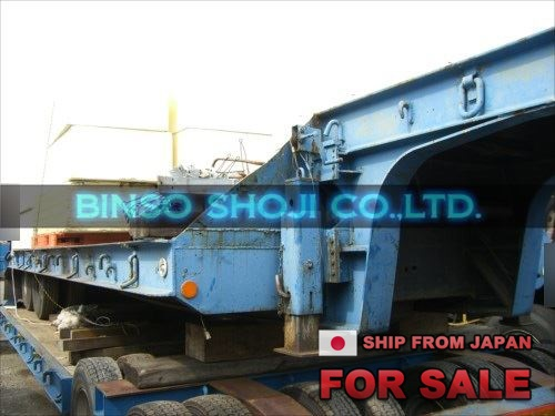 TOKYU 20 TONS LOW BED TRAILER 2 AXLE 8 WHEELS