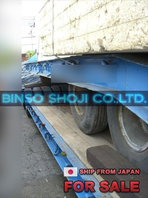 TOKYU 20 TONS LOW BED TRAILER 2 AXLE 8 WHEELS (16)