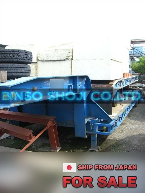 TOKYU 20 TONS LOW BED TRAILER 2 AXLE 8 WHEELS (20)