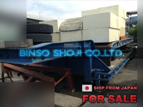 TOKYU 20 TONS LOW BED TRAILER 2 AXLE 8 WHEELS (25)