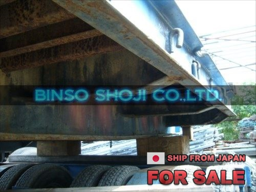 TOKYU 20 TONS LOW BED TRAILER 2 AXLE 8 WHEELS (41)