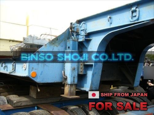 TOKYU 20 TONS LOW BED TRAILER 2 AXLE 8 WHEELS (44)
