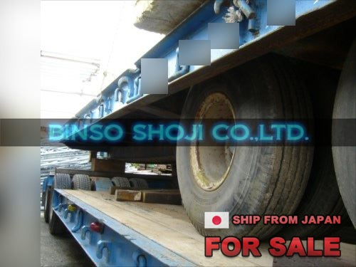 TOKYU 20 TONS LOW BED TRAILER 2 AXLE 8 WHEELS (46)