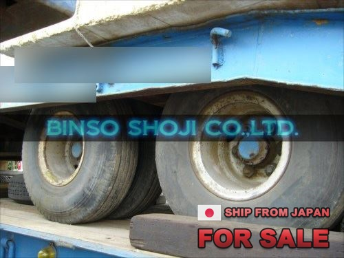 TOKYU 20 TONS LOW BED TRAILER 2 AXLE 8 WHEELS (47)