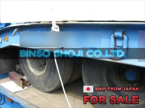TOKYU 20 TONS LOW BED TRAILER 2 AXLE 8 WHEELS (6)