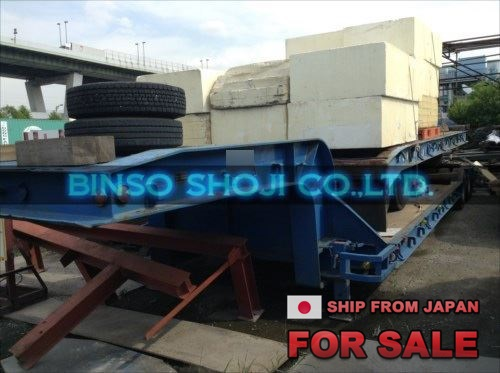 TOYO 25 TONS LOW BED TRAILER 2 AXLE 16 WHEELS (1)