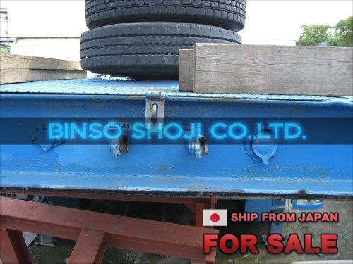 TOYO 25 TONS LOW BED TRAILER 2 AXLE 16 WHEELS (11)
