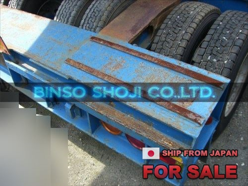 TOYO 25 TONS LOW BED TRAILER 2 AXLE 16 WHEELS