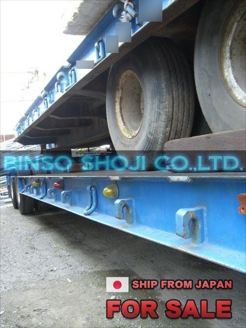 TOYO 25 TONS LOW BED TRAILER 2 AXLE 16 WHEELS (20)