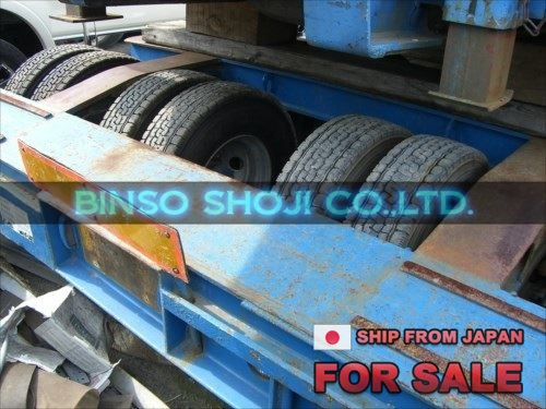 TOYO 25 TONS LOW BED TRAILER 2 AXLE 16 WHEELS (24)