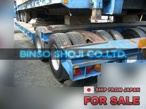 TOYO 25 TONS LOW BED TRAILER 2 AXLE 16 WHEELS (28)