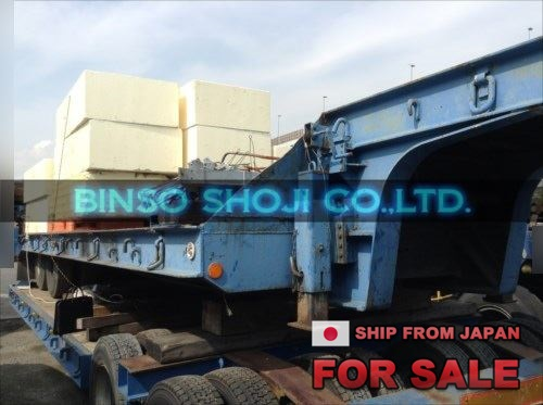 TOYO 25 TONS LOW BED TRAILER 2 AXLE 16 WHEELS (35)