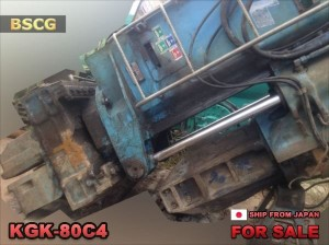 USED GIKEN SILENT PILER KGK-80C4 1987 MODEL 007