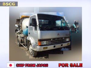 [ FOR SALE ] USED MITSUBISHI FUSO 4 TON MIXER LORRY ( MIXER TRUCK )