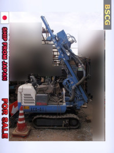 [ FOR SALE ] YBM BOWLING MACHINE VIBRO DRILL ( CRAWLER TYPE ) ECO-1V 2002 MODEL
